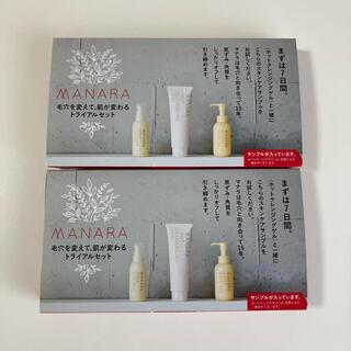 maNara - マナラ モイストウォッシュゲル 他サンプル 7日間分 × 2セット