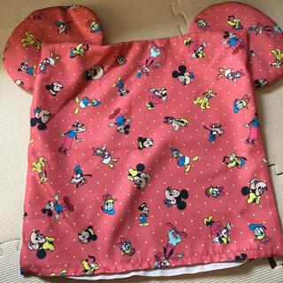 ディズニー(Disney)のミッキー耳付き クッションカバー Disney  3枚セットです(クッションカバー)
