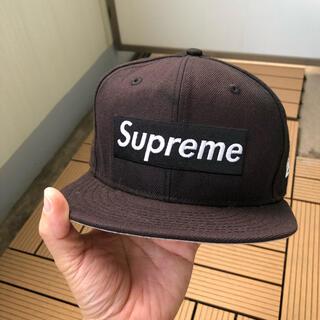 シュプリーム(Supreme)のSupreme ボックスロゴキャップ ニューエラ R.I.P.(キャップ)