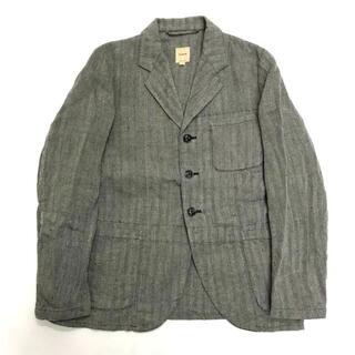 エンジニアードガーメンツ(Engineered Garments)の美品 Sanca サンカ リネン ヘリンボーン テーラード ジャケット 2(テーラードジャケット)