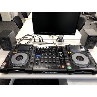 パイオニア(Pioneer)のPioneer DJM900nxs+CDJ2000nxs(×2)+DM-40(CDJ)