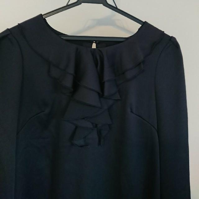 ketty(ケティ)の長袖 カットソー フリル Mサイズ レディースのトップス(カットソー(長袖/七分))の商品写真