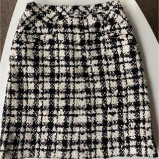 シャネル(CHANEL)の極美品CHANEL ツイードスカート(ミニスカート)
