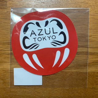 アズールバイマウジー(AZUL by moussy)のAZUL by moussy ステッカー だるま AZUL Tokyo(シール)