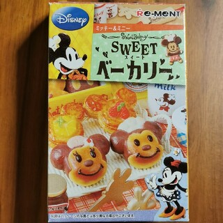 ディズニー(Disney)のディズニー ミッキー&ミニー SWEETベーカリー 6点 リーメント ミニチュア(ミニチュア)