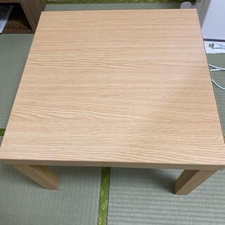 カインズホーム 正方形 木目調 テーブル(ローテーブル)