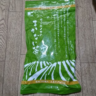 ティーライフ(Tea Life)の国産静岡のまかない緑茶ティーパック100個(茶)