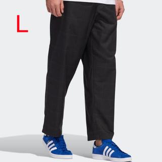 アディダス(adidas)の新品   【アディダススケートボーディング】 プレイド トラックパンツ  L(その他)