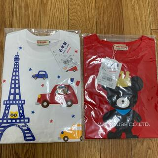 mikihouse - 値下げ✩︎⡱ミキハウス Tシャツ 110 2枚セット