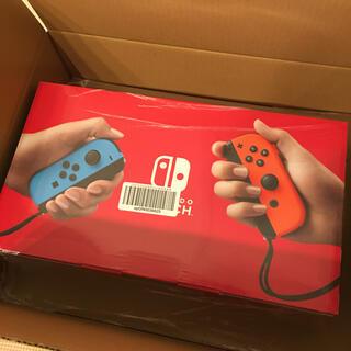 ニンテンドースイッチ(Nintendo Switch)の新品未使用 Nintendo Switch 本体1台(家庭用ゲーム機本体)
