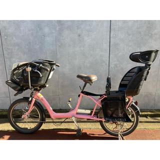 ブリヂストン(BRIDGESTONE)のブリジストン アンジェリーノ プティット 子供乗せ自転車 ピンク 非電動(自転車)
