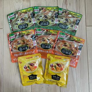 カゴメ(KAGOME)の専用  カゴメ クノール スープセット 8点(レトルト食品)