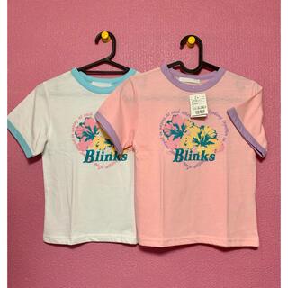 スピンズ(SPINNS)のspinns ショート丈リンガーTシャツ Mサイズ 【2枚セット】(Tシャツ(半袖/袖なし))