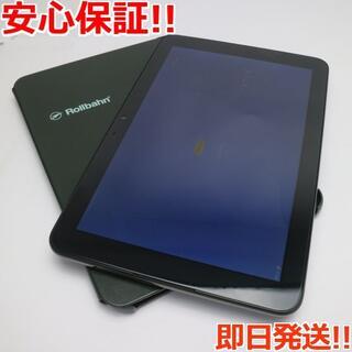 キョウセラ(京セラ)の美品 KYT33 Qua tab QZ10 オリーブブラック (タブレット)