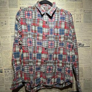 アンダーカレント(UNDERCURRENT)のUNDERCURRENT アンダーカレント 長袖シャツ チェックシャツ M(シャツ)