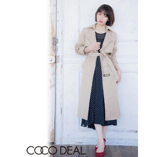 COCO DEAL - ロングトレンチコート