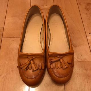 REGAL - keyuca タッセル付きローファー革靴 本革