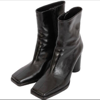 Ameri VINTAGE - UNDRESSED DIMENSIONAL SQUARE BOOTS