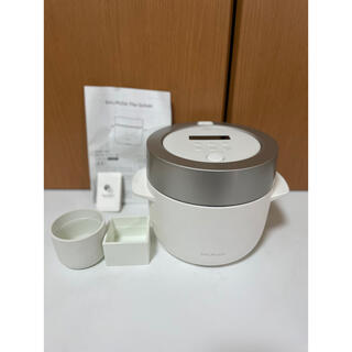 BALMUDA - バルミューダ 3合電気炊飯器 BALMUDA The Gohan K03A-WH