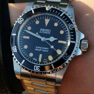 セイコー(SEIKO)のSEIKO セイコー mod カスタム 腕時計 ビンテージ サブマリーナ(腕時計(アナログ))