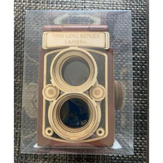 KALDI - KALDI レフレックス木製カメラ 茶色