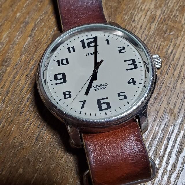 TIMEX(タイメックス)のタイメックス 腕時計  ブラウン メンズの時計(腕時計(アナログ))の商品写真