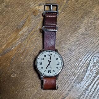 TIMEX - タイメックス 腕時計  ブラウン