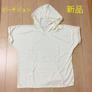 ピーチジョン(PEACH JOHN)のPJ☆ジャガードパイルトップ☆Lサイズ(Tシャツ(半袖/袖なし))
