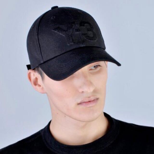 Y-3(ワイスリー)の美品Y-3 LOGO CAP キャップ帽子アディダスadidas ヨウジヤマモト メンズの帽子(キャップ)の商品写真