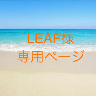 LEAF様 専用ページ(その他)