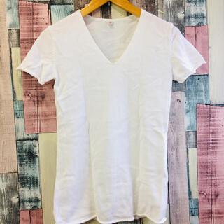 ユニクロ(UNIQLO)のユニクロ 半袖  綿 ニット(Tシャツ/カットソー(半袖/袖なし))