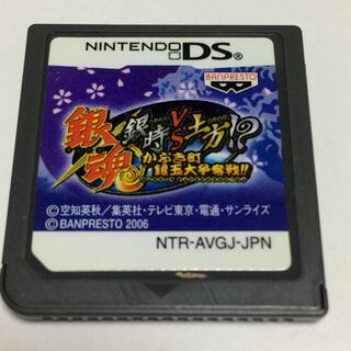 ニンテンドーDS(ニンテンドーDS)の【NO66】DS 銀魂 銀時VS土方(携帯用ゲームソフト)