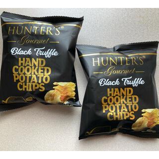HUNTER'S ブラックトリュフポテトチップス 2セット(菓子/デザート)