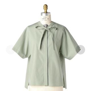 ドゥロワー(Drawer)のDrawer  2点 コットン天竺、リボンショートスリーブシャツ (カットソー(半袖/袖なし))