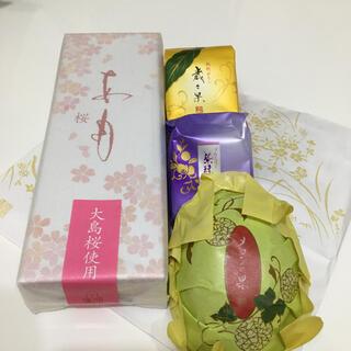 【叶匠壽庵/源吉兆庵】あも(さくら)+源吉兆庵季節菓子セット(菓子/デザート)
