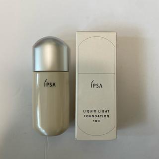 イプサ(IPSA)のイプサ リキッド ライト ファンデーション100(ファンデーション)
