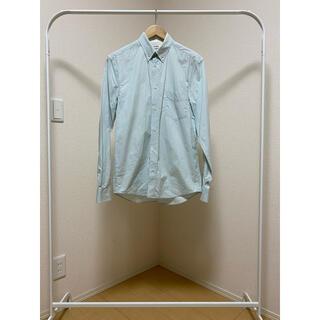 アクネ(ACNE)の【ACNE STUDIOS】長袖コットンシャツ ブルー 44(シャツ)