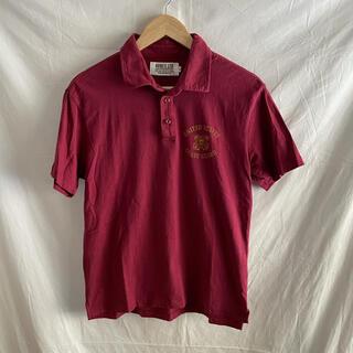 アヴィレックス(AVIREX)のAVIREX アヴィレックス ポロシャツ ワインレッド Mサイズ(ポロシャツ)
