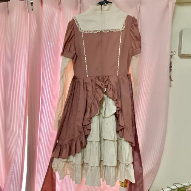 Angelic Pretty(アンジェリックプリティー)のAngelic Pretty ワンピース&ヘッドドレス EYE♡のお店 レディースのワンピース(ひざ丈ワンピース)の商品写真