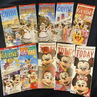 ディズニー(Disney)のディズニーランド・トゥデイ / ディズニーシー・ガイド ミッキー&ミニー(アート/エンタメ/ホビー)