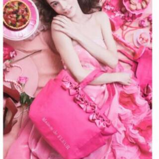 メゾンドフルール(Maison de FLEUR)のメゾンドフルール 新品タグあり ピンクマニアサイドポケットMトートバッグ(トートバッグ)