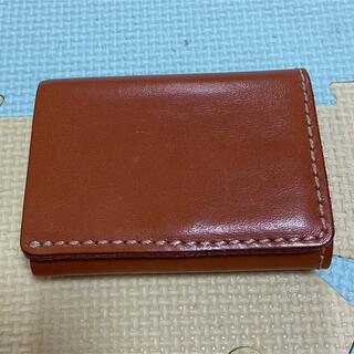HERZ - HERZ ヘルツ 一寸ウォレット 折り財布  WS-2 キャメル