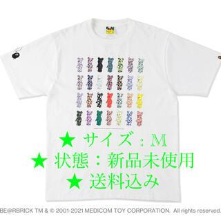 アベイシングエイプ(A BATHING APE)のBAPE 28TH ANNIV. BE@RBRICK TEE (Tシャツ/カットソー(半袖/袖なし))
