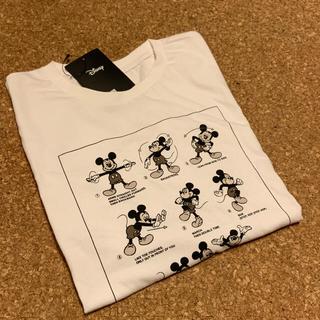 ディズニー(Disney)の【新品未使用品】体操ミッキーTシャツ(Tシャツ(半袖/袖なし))