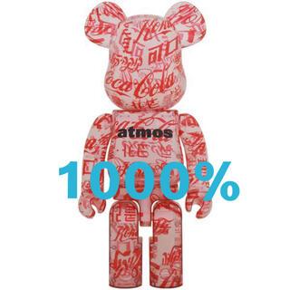 メディコムトイ(MEDICOM TOY)のBE@RBRICK atmos Coca-Cola 1000% CLEAR(その他)