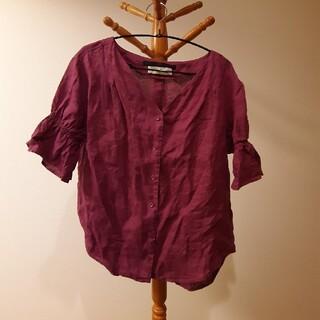 ケービーエフプラス(KBF+)のKBF+コットンシャツ(シャツ/ブラウス(半袖/袖なし))