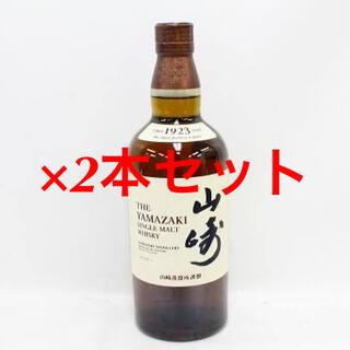 サントリー(サントリー)のサントリーシングルモルトウイスキー 山崎 NV 700ml 2本(ウイスキー)