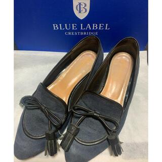 バーバリーブルーレーベル(BURBERRY BLUE LABEL)のブルーレーベル クレストブリッジ タッセルローファー(ローファー/革靴)