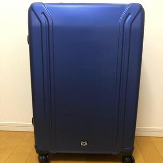 ゼロハリバートン(ZERO HALLIBURTON)の新品タグ付ZEROBRIDGEスーツケース ルイス 94L ブルー(トラベルバッグ/スーツケース)