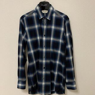 Saint Laurent - 国内正規品 14SS サンローラン チェックシャツ エディスリマン